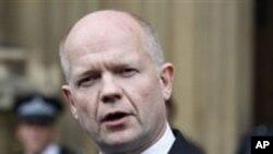 برطانوی سفارت کاری کا مرکز ترقی پذیر معیشتیں ہوں گی: ولیم ہیگ