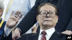 前中国国家主席江泽民(资料照片)