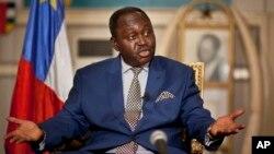 Predsednik Centralne Afričke Republike Fransoa Bozize