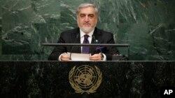 رئیس اجراییۀ افغانستان در مجمع عمومی ملل متحد