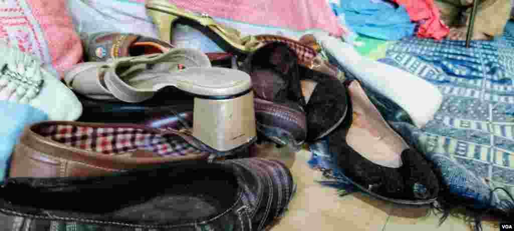کوئٹہ میں قائم پرانے کپڑوں کی مارکیٹ میں بچوں کے لیے سو روپے سے تین سو روپے تک کے کپڑے اور جوتے دستیاب ہیں۔