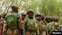 L'armée nigériane à Maiduguri