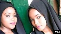 'Yan tagwayen jihar Zamfara da aka yi garkuwa da su a watan Oktoba (Hoto: Daily Nigerian)