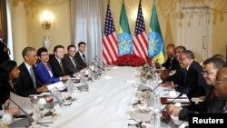 美国总统奥巴马星期一会晤埃塞俄比亚领导人