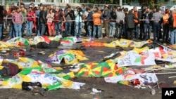 رقم کشته شدگان حملات در انقره به ۹۵ نفر رسیده و بیش از ۲۰۰ تن دیگر زخمی اند.