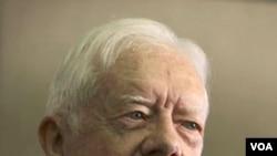 Mantan Presiden AS, Jimmy Carter.