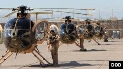 هیلیکوپتر های MD-530 هم برای مقاصد آموزشی و هم برای ماموریت های جنگی کار گرفته می شود.