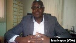Le bâtonnier, maître Paulin Salembere, à Ouagadougou, Burkina Faso, le 24 avril 2019. (VOA/Issa Napon)