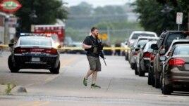 Incident me armë në rajonin policor të Dallasit