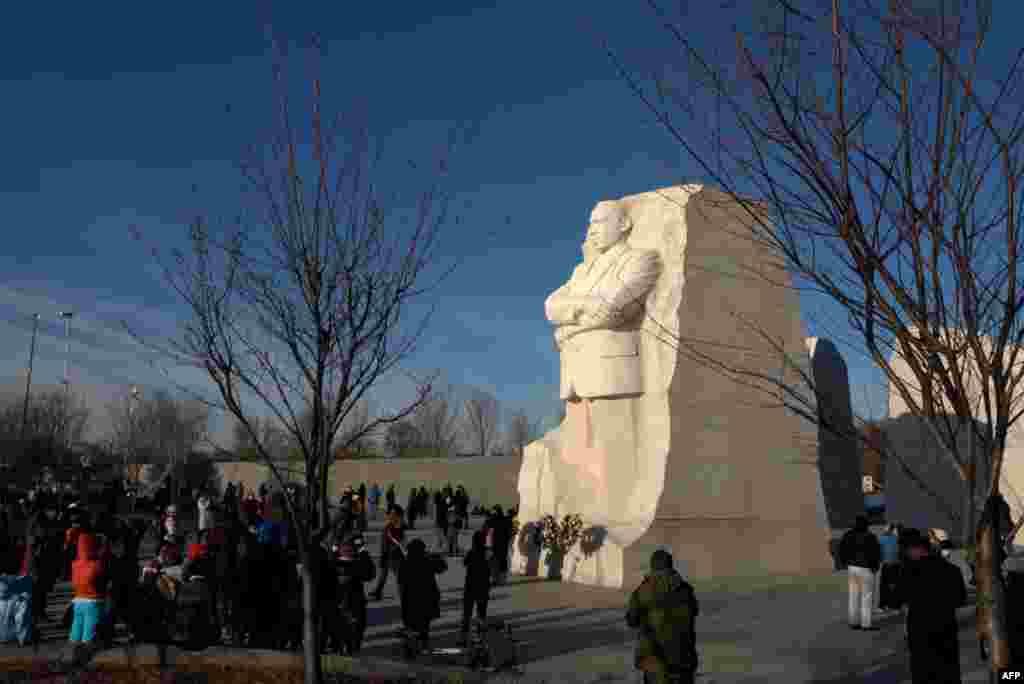 Американцы чтут память Мартина Лютера Кинга
