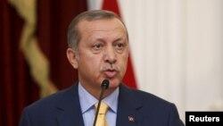FILE - Turkey's President Recep Tayyip Erdogan, July 31, 2015.