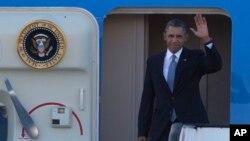 奧巴馬總統前往歐洲會晤盟友