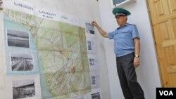 რუსი ოკუპანტი აფხაზეთში ქართულ საინჟინრო-სამხედრო რუქას იყენებს