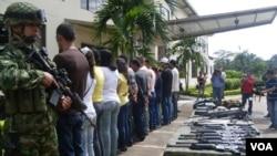 Los fuerzas de seguridad de Colombia continúan llevando a cabo operativos contra las FARC.