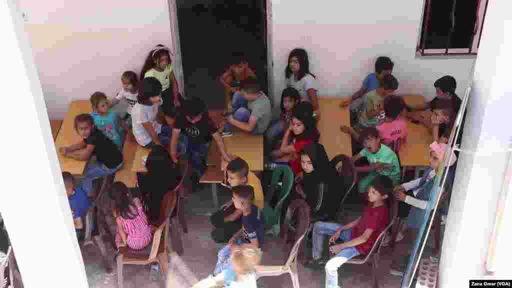 Piştevaniya Zarokên Bûne Qurbana Şer Û Pevçûnan li Bakur Û Rojhilatê Sûriyê