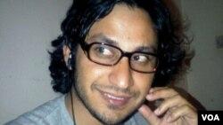 "Farid Gul's latest poem is ""Paris Hilton vs. the Poor Poet"" (courtesy of Farid Gul)"