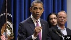 Barack Obama quiere que la tasa impositiva que pagan los más adinerados vuelva a ser tan alta como era antes.