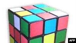 Permainan kubus teka-teki Rubik asal Hongaria yang banyak dipalsukan oleh China (foto: dok).