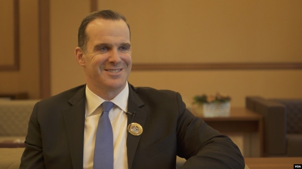 Brett McGurk, the U.S. special presidential envoy for the global coalition to counter the Islamic State group.