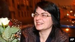 Главный редактор сайта «Хартии-97» Наталья Радина