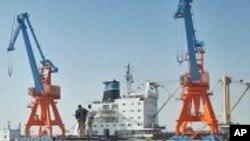 Gwadar ေရနက္ဆိပ္ကမ္း တည္ေဆာက္ေနစဥ္ (၂၀၊ ၃၊ ၂၀၀၇)