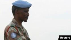Le général-major Derrick Mgwebi, le nouveau commandant de la force de maintien de la paix des Nations unies en République Démocratique du Congo.