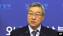 방미중인 김성환 외교통상부 장관 (자료사진)