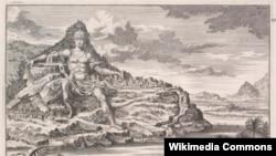 Alexander's Statue, Mt. Athos project