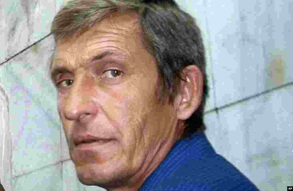 Anatoly Klyan, the veteran cameraman who worked for Russia's Channel One, was killed overnight when a bus carrying journalists was hit by gunfire. He was the fifth journalist to be killed since the fighting began in April between Ukrainian government troops and armed pro-Russia separatists, in eastern Ukraine, June 30, 2014.