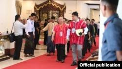 KNU leaders (NCA-S EAO)