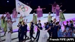 Olimpijski izbjeglički tim u Tokiju.