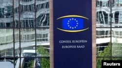 Kantor pusat Dewan Uni Eropa di Brussels, Belgia.