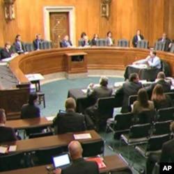 Une séance de travail au Sénat