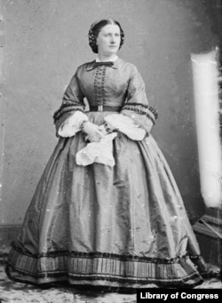 "Harriet Lane, James Buchanan's niece, served as the ""Hostess"" at his White House."