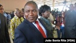 Mantan menteri pertahanan Filipe Nyusi calon kuat untuk memenangkan pilpres di Mozambik (foto: dok).