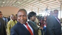 """Moçambique: """"Paz real tem que ser trazida de forma real"""", diz Presidente Filipe Nyusi - 3:22"""