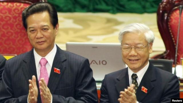 Cuộc đua giành chức tổng bí thư giữa ông Nguyễn Tấn Dũng và Nguyễn Phú Trọng được coi là sẽ 'gay cấn đến phút chót'.