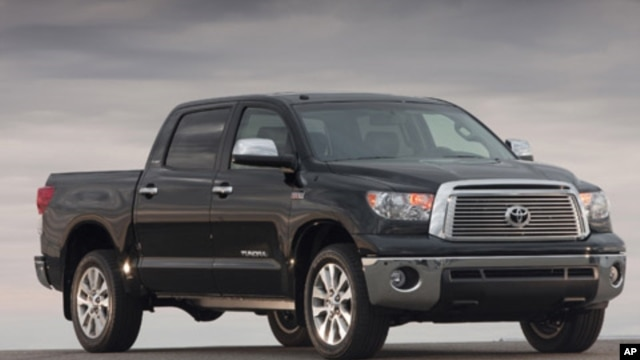 The 2010 Toyota Tundra is one of the vehicles being recalled for flawed gas pedals