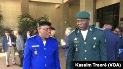 Les directeurs généraux des pays du G5 Sahel en réunion à Bamako, Mali, le 7 décembre 2017. (VOA/Kassim Traoré)