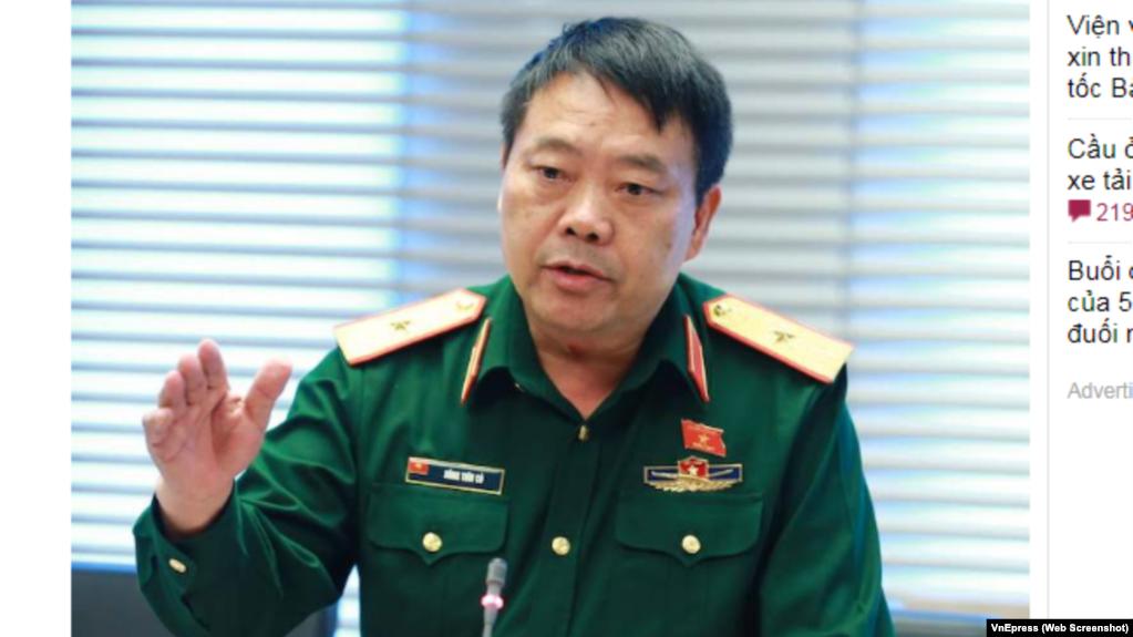 Thiếu tướng Sùng Thìn Cò-Phó tư lệnh Quân khu 2.