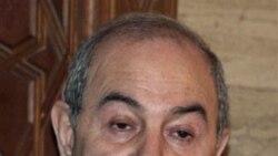 اياد علاوی، نخست وزير پيشين و رهبر ائتلاف سکولار عراق
