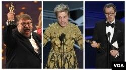 برندگان جایزههای بهترین بازیگر زن و مرد و بهترین کارگردانی