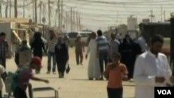 Tác động dễ thấy nhất tại Jordan là hơn nửa triệu người tỵ nạn Syria. Tình hình này gây nhiều khó khăn cho các cấu trúc trong xã hội Jordan.