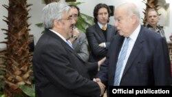 El Secretario de la OEA, José Miguel Insulza, presidió el homenaje a los defensores de DD.HH. de Uruguay y toda América. [Foto: OEA]