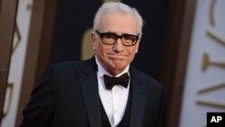 """El director Martin Scorsese es el productor ejecutivo de """"Autoridad Portuaria"""", estrenada en Cannes y dirigida por Danielle Lessovitz. Foto Jordan Strauss/Invision/AP. Teatro Dolby, Los Angeles, 2-3-14."""