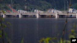 Bendungan di kawasan Mekong (foto: dok).