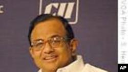 بھارتی وزیرِ داخلہ پی چدم برم