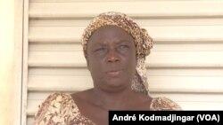 Fihil Agoï, présidente de l'Union des organisations des femmes vendeuses de poisson du Tchad, à N'Djamena le 10 septembre 2019. (VOA/André Kodmadjingar).