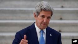 美国总统气候变化事务特使约翰·克里(美联社2021年7月23日)