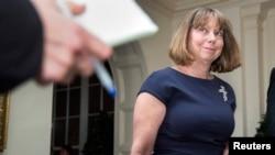Jill Abramson, ex editora ejecutiva del New York Times.